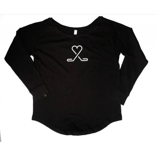 Dámske tričko - Live Love Hockey s vlastným číslom